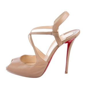Christian Louboutin Cross Me Apostrophe Red Sole